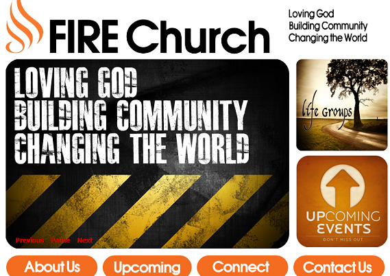 FIRE Church Screenshot